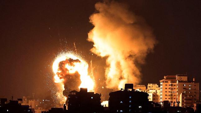 إطلاق سبعة صواريخ على قوات الاحتلال.. وحماس تتبنى الحادث