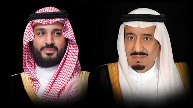 خادم الحرمين الشريفين وولي عهد المملكة يبعثان ببرقية عزاء في وفاة الشيخ سلطان بن زايد